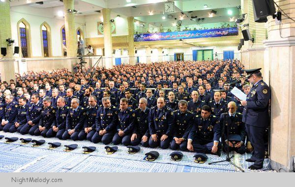 بیانات صریح و قاطعانه فرمانده معظم کل قوا در دیدار مسئولان نیروی هوایی