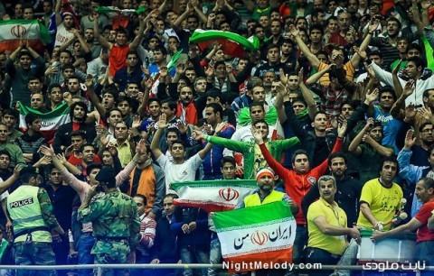 کشتی جام جهانی تهران - ایران و آمریکا