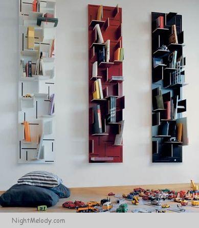 مدل قفسه بندی کتابخانه
