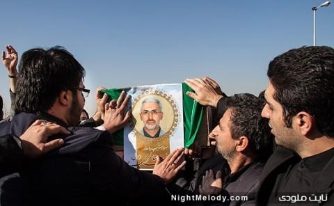 تشییع پیکر سردار شهید حسن شاطری