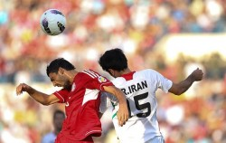 فوتبال ایران و لبنان