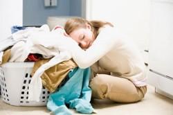 خستگی خانم های خانه دار