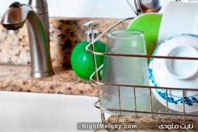 تمیزکردن زردی لیوان,از بین بردن لکه های لیوان