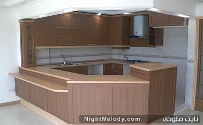 کابینت mdf آشپزخانه