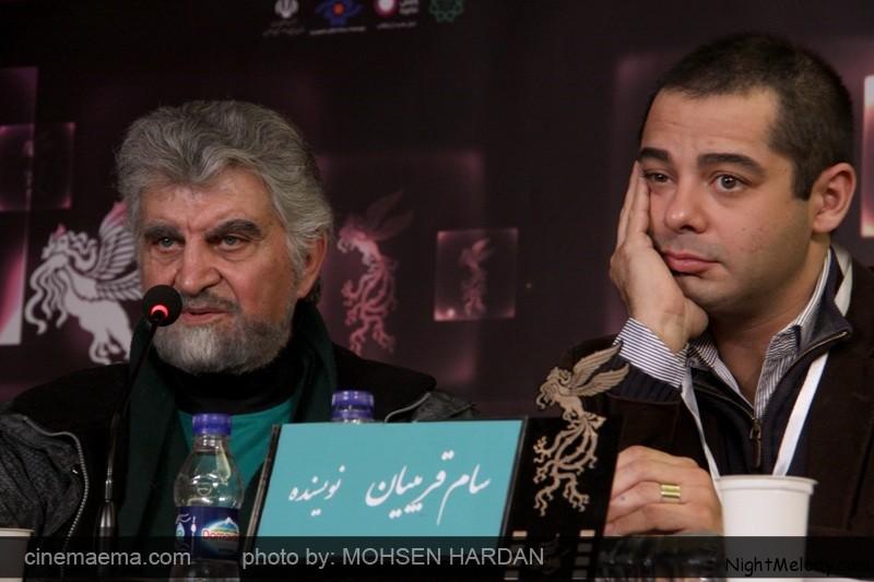 سام قریبیان: فیلمنامه سالها پیش نوشته شد و قرار نبود در ایران ساخته شود برای ساخته شدن فیلمنامه در ایران باید تغییراتی ایجاد میشد