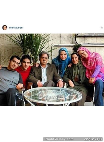 تسلیت مهراوه شریفی نیا به خبر درگذشت سید علی طباطبائی در صفحه اینستاگرام