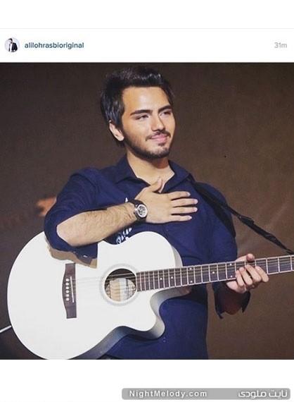تسلیت علی لهراسبی به خبر درگذشت سید علی طباطبائی در صفحه اینستاگرام