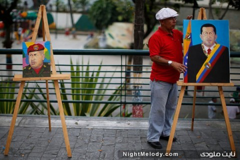 عکس های سوگواران هوگو چاوز در ونزوئلا