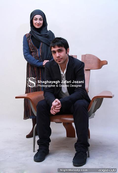 عکس های حسین مهری و ویدا جوان