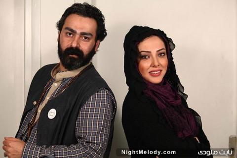 عکس ایرج قادری و همسرش
