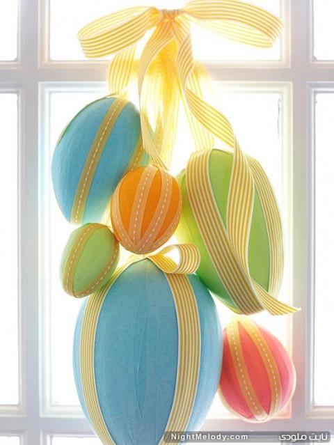 تزیین تخم مرغ عید نوروز 92