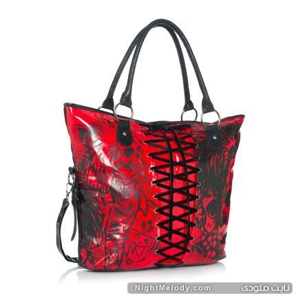 مدل  کیف های قرمز