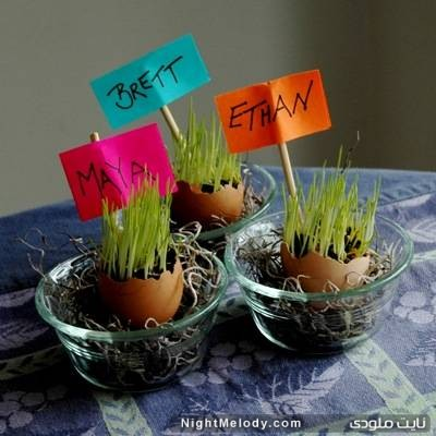 آموزش سبزه عید نوروز 92