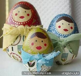 تزیین تخم مرغ نوروز 92