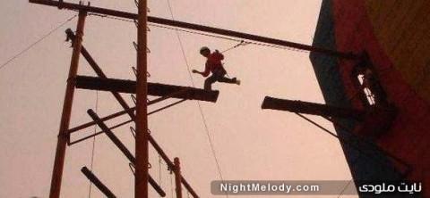 عکسهای خندهدار از عجیبترین کارهای ممکن!