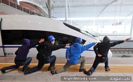 افتتاح خط آهن قطار سریع السیر در شنیانگ چین