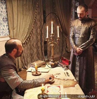 سوتی های سریال حریم سلطان