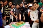 جشن تولد کریم انصاریفرد و جلال حسینی