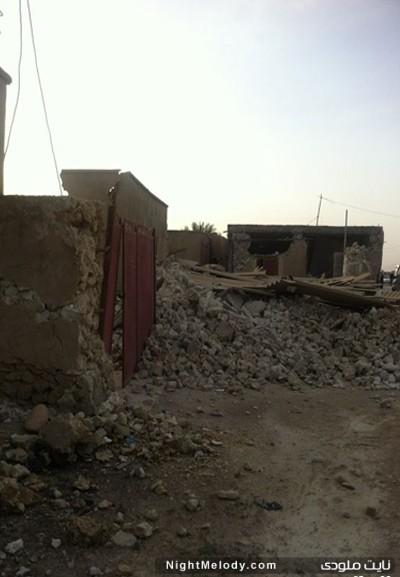 عکس های زلزله بوشهر