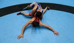 نتایج رقابتهای کشتی فرنگی قهرمانی آسیا
