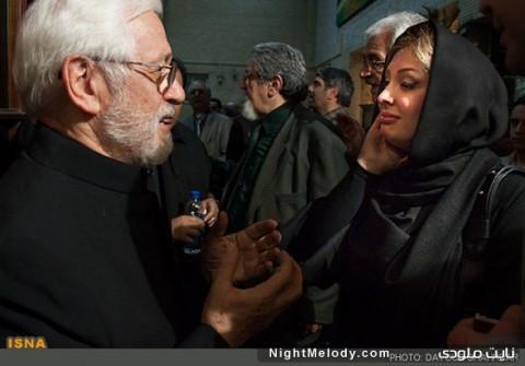 عکس هایی از مراسم ترحیم عسل بدیعی با حضور بازیگران