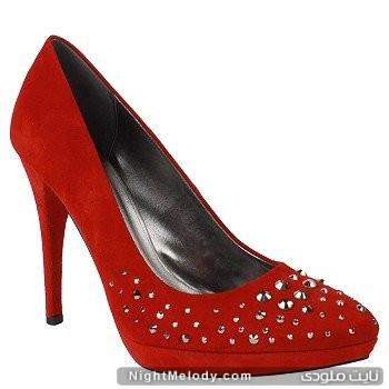 کفش های قرمز پاشنه بلند