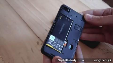 عکس های گوشی بلک بری Z10