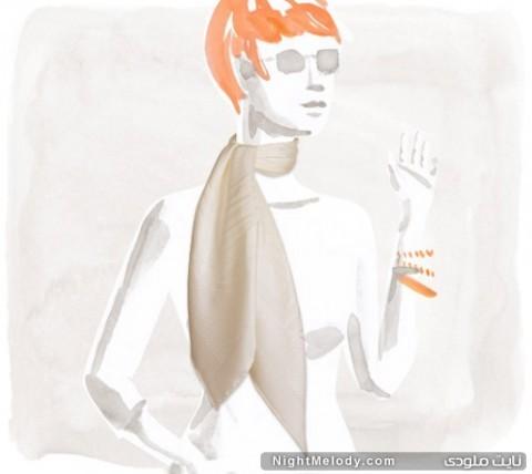 جدیدترین مدل های روسری Hermes