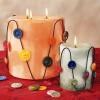 شمع هایی زیبا برای تزئین روز مادر