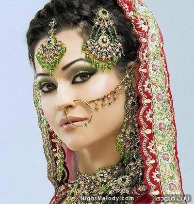 عکسهای زیبا از طلا و جواهرات هندی