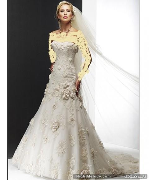 جدیدترین مدل های لباس عروس2013