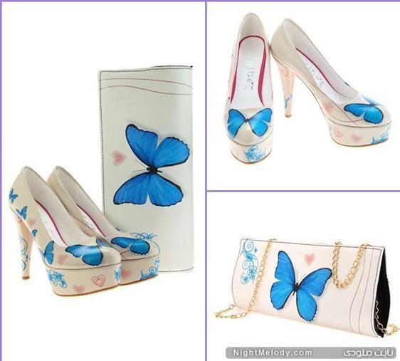 مدل کیف و کفش ست زنانه2013