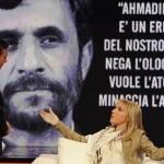 دختر ایتالی عاشق احمدی نژاد