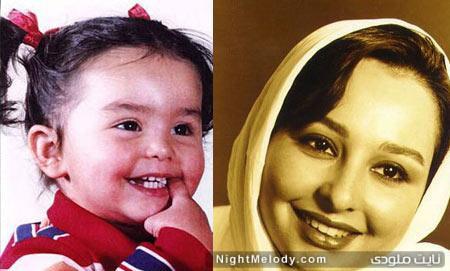 عکس کودکی بازیگران ایرانی