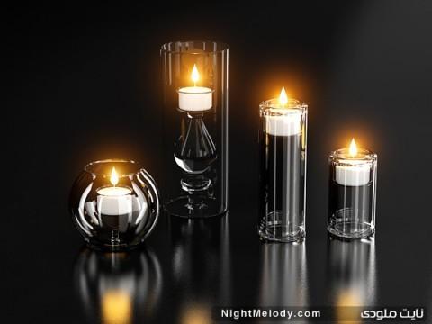 عکس های شمع