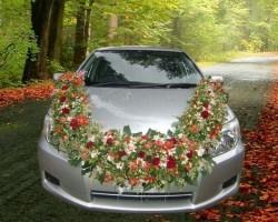 جدیدترین مدل تزیین ماشین عروس2013