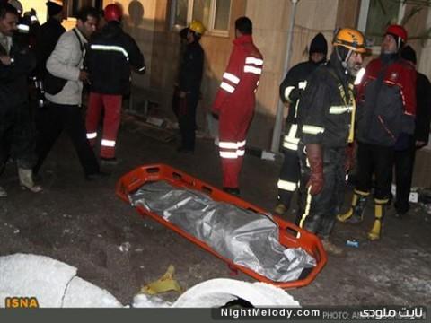 حادثه سقوط بیل مکانیکی