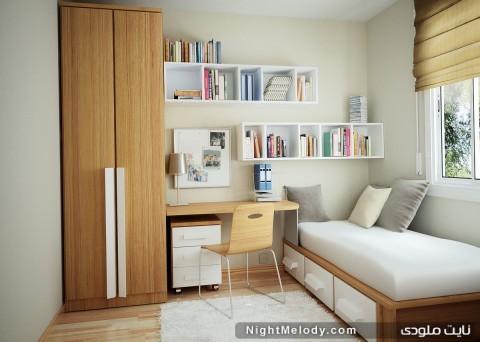 جدیدترین مدل دکوراسیون اتاق خواب2013