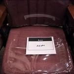 صندلی رزرو شدهدختر وزیر