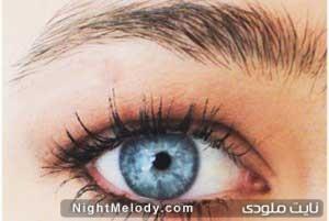 آرایش چشم قهوه ای تیره