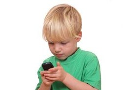 خطرات گوشی موبایل برای بچه ها