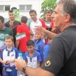 بازدید ۵۰ کودک برزیلی از تمرین تیم ملی