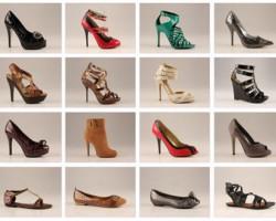 اصول مد: انواع مختلف کفش