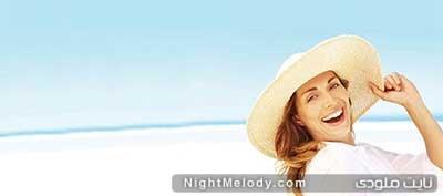 داشتن پوست سالم و شاداب در تابستان