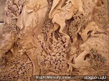 منبت و احجام چوبی سنتی