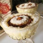 طرز تهیه فرنی پرتقالی دسر ماه رمضان