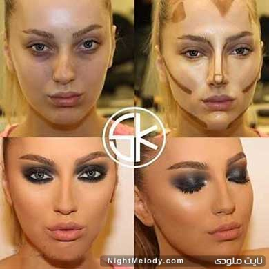 نکاتی برای زیرسازی و آرایش صورت