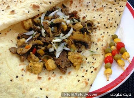 کباب بختیاری در تابه