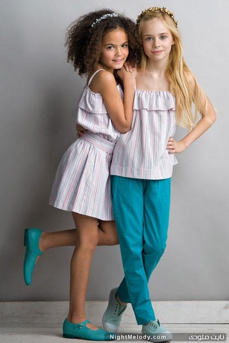 مدل لباس تابستانی دخترانه و پسرانه