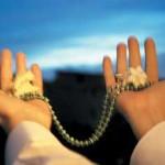 دست کشیدن به صورت پس از دعا